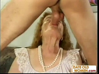 Freak of nature old ass granny