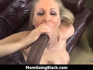 Monster black cock bangs my moms white pussy 9