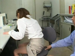 Asian Office Slut