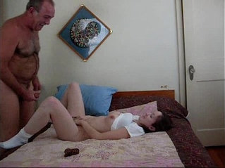 Grandpa Fucked His Granddaughter Very Hard Part 1
