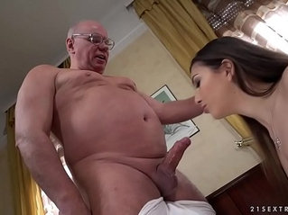 Old prof seduces younger student anya krey