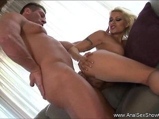 A Deep And Harsh Anal Sex